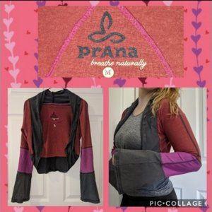 PrAna Hemp Shrug Bell Sleeve Yoga Cardigan